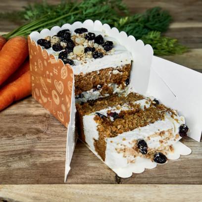 Pastel Carrot Cake con harina sin gluten