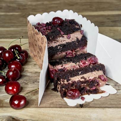 Pastel Chocolate-Cereza